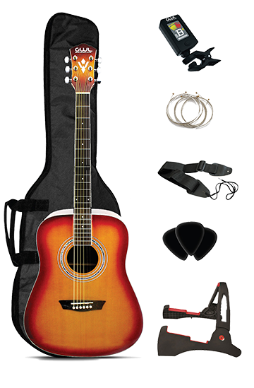 Clip On Guitar Tuner >> GWL Guitars - Acoustic Guitar Package